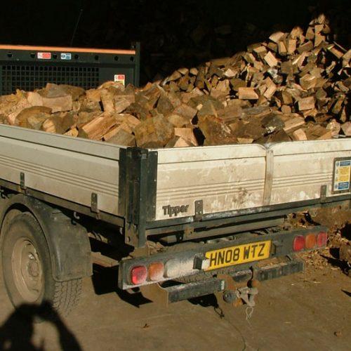 log firewood